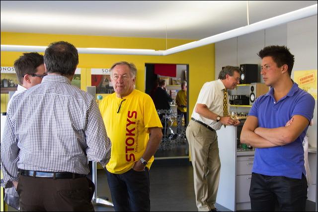 Stokys Ladeneröffnung
